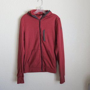 Adidas climalite hooded jacket sweatshirt